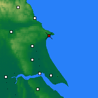 Nearby Forecast Locations - Bridlington - Map