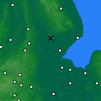 Nearby Forecast Locations - Lincolnshire - Map