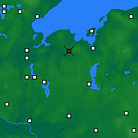 Nearby Forecast Locations - Grevesmühlen - Map
