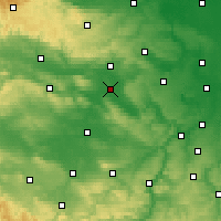 Nearby Forecast Locations - Artern - Map