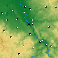 Nearby Forecast Locations - Bonn - Map