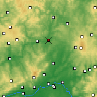 Nearby Forecast Locations - Giessen - Map