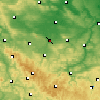 Nearby Forecast Locations - Erfurt - Map