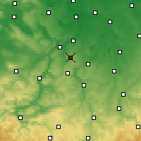 Nearby Forecast Locations - Osterfeld - Map