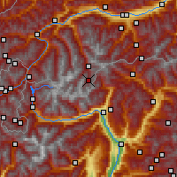 Nearby Forecast Locations - Gurgl - Map