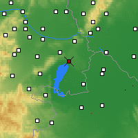 Nearby Forecast Locations - Neusiedl am See - Map