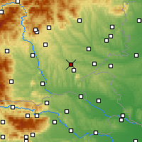 Nearby Forecast Locations - Feldbach - Map