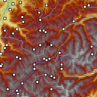 Nearby Forecast Locations - Idalpe - Map