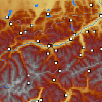 Nearby Forecast Locations - Innsbruck/Uni - Map