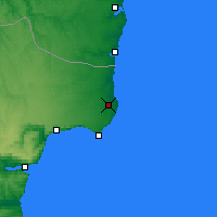 Nearby Forecast Locations - Shabla - Map