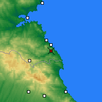 Nearby Forecast Locations - Ahtopol - Map