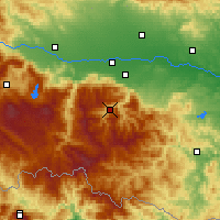 Nearby Forecast Locations - Rojen - Map