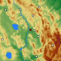Nearby Forecast Locations - Perugia - Map