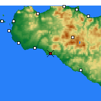 Nearby Forecast Locations - Sciacca - Map