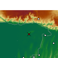 Nearby Forecast Locations - Sylhet - Map