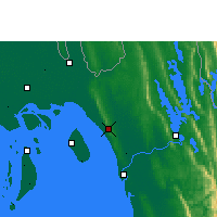 Nearby Forecast Locations - Sitakunda - Map