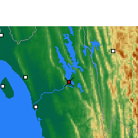 Nearby Forecast Locations - Rangamati - Map