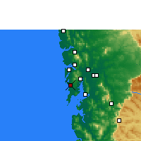 Nearby Forecast Locations - Mumbai - Map