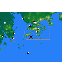 Nearby Forecast Locations - Cheung Chau - Map