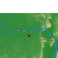 Nearby Forecast Locations - Pakse - Map