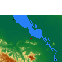 Nearby Forecast Locations - Krakor - Map