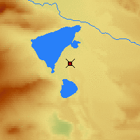Nearby Forecast Locations - Fuhai - Map