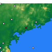 Nearby Forecast Locations - Haiyang - Map