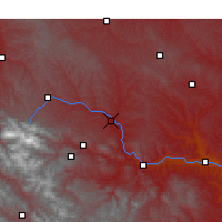 Nearby Forecast Locations - Longxi - Map
