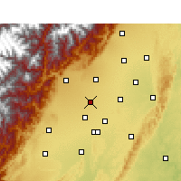 Nearby Forecast Locations - Pi Xian/SCH - Map