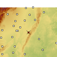 Nearby Forecast Locations - Longquanyi - Map