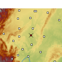 Nearby Forecast Locations - Meishan - Map