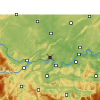 Nearby Forecast Locations - Nanxi/SCH - Map