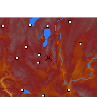 Nearby Forecast Locations - Huaning - Map