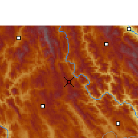 Nearby Forecast Locations - Puer - Map