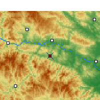 Nearby Forecast Locations - Yunyang/HUB - Map