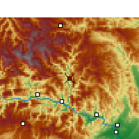 Nearby Forecast Locations - Xingshan - Map