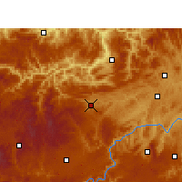 Nearby Forecast Locations - Jinsha - Map