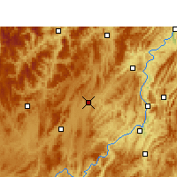 Nearby Forecast Locations - Fenggang - Map