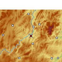 Nearby Forecast Locations - Kuangtou - Map