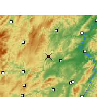Nearby Forecast Locations - Fenghuang - Map
