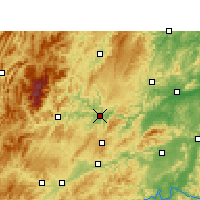 Nearby Forecast Locations - Tongren - Map
