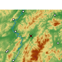 Nearby Forecast Locations - Xupu - Map