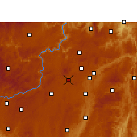 Nearby Forecast Locations - Qingzhen - Map