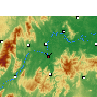 Nearby Forecast Locations - Lingling - Map
