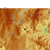 Nearby Forecast Locations - Sandu - Map