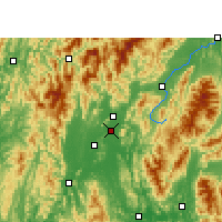 Nearby Forecast Locations - Guilin - Map