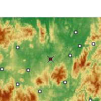Nearby Forecast Locations - Guiyang/HUN - Map