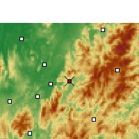 Nearby Forecast Locations - Zixing - Map