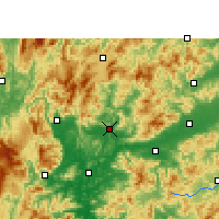 Nearby Forecast Locations - Renhua - Map
