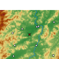 Nearby Forecast Locations - Nankang - Map